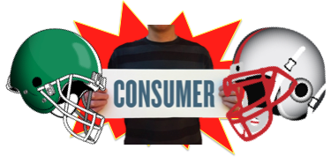 football vs advertising