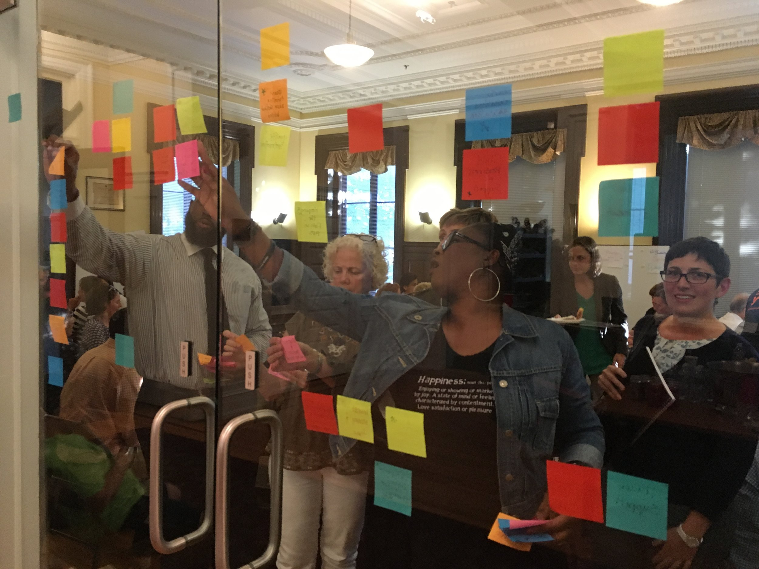 On October 3rd, over 60 people attended the first Thriving Richmond event.