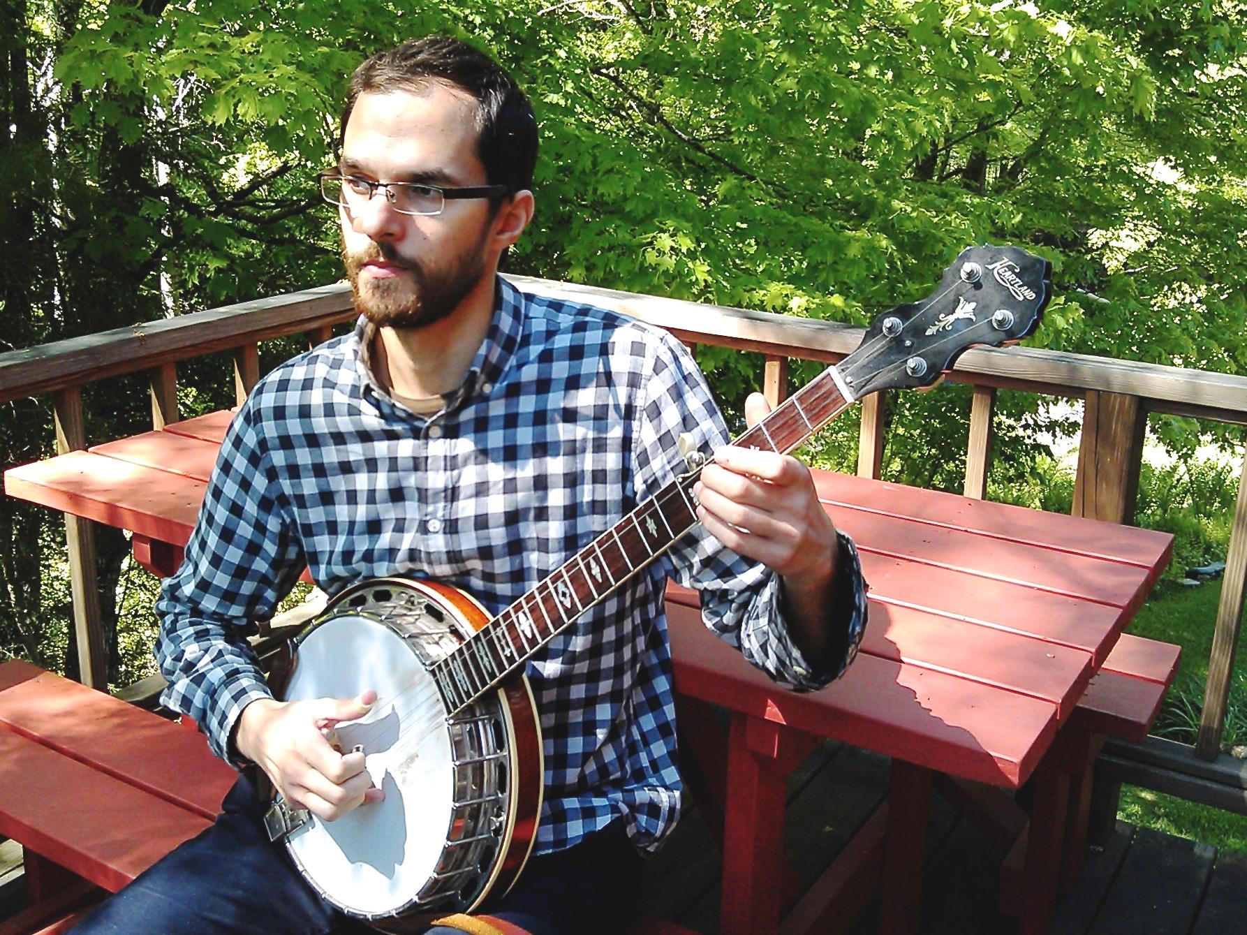 Ben banjo in VT.jpg