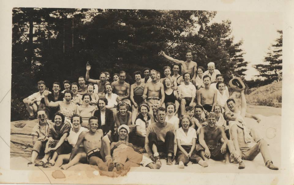 Photo from personal collection - Lake Muskoka Crew, c. 1930