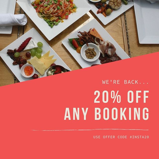 We're back...Pre-season sales starts today! Book any available date this summer and receive 20% off you're whole package. *Sale ends Friday May 10th, dates can be changes dependent on availability.