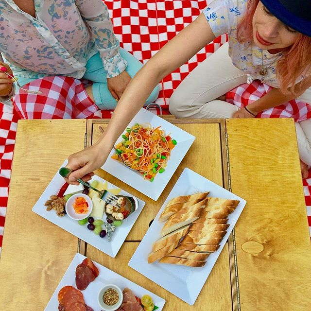 This isn't your boring sandwich kind of picnic. We are proud to partner with Poplar Grove Cheesery and have curated a cheese board that takes picnicking to a whole new level!