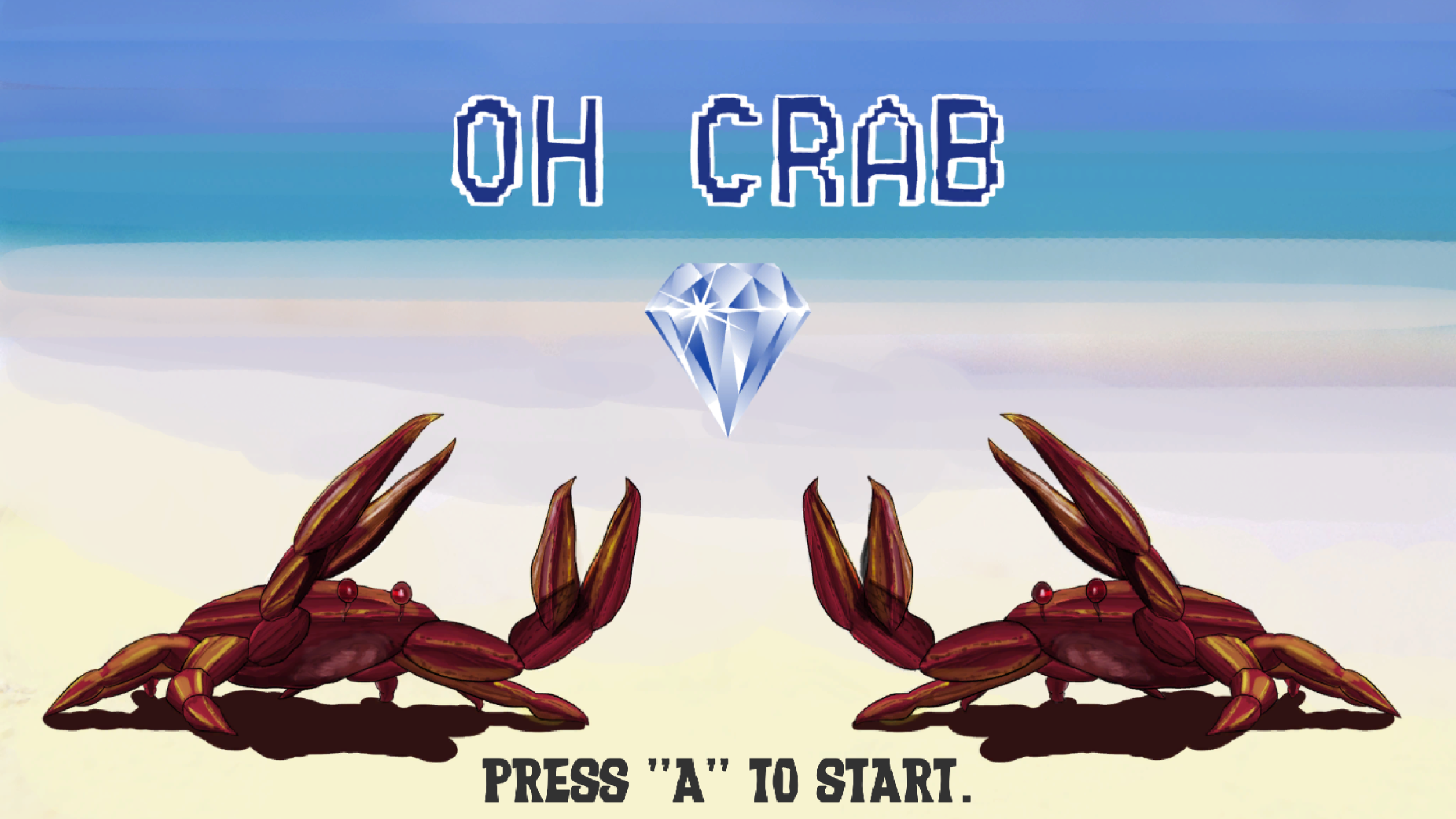 Oh Crab! - A two player game developed during the 2017 Global Game Jam