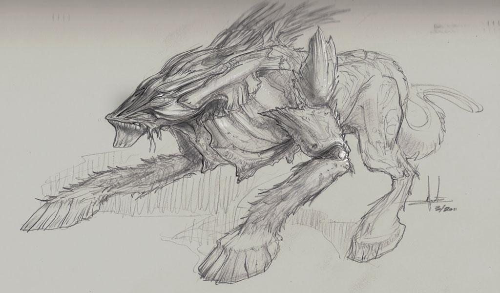 hybrid creature design