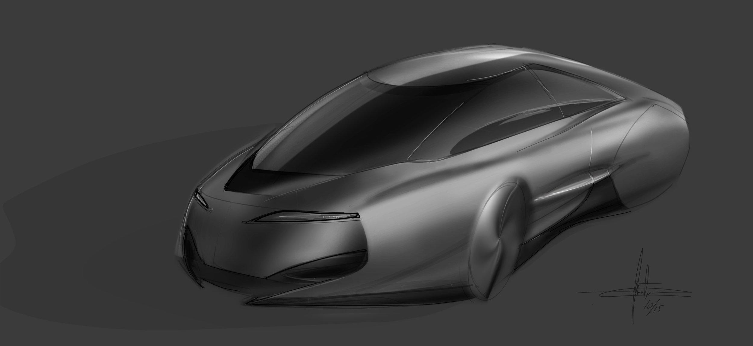 2016 CES autonomous car