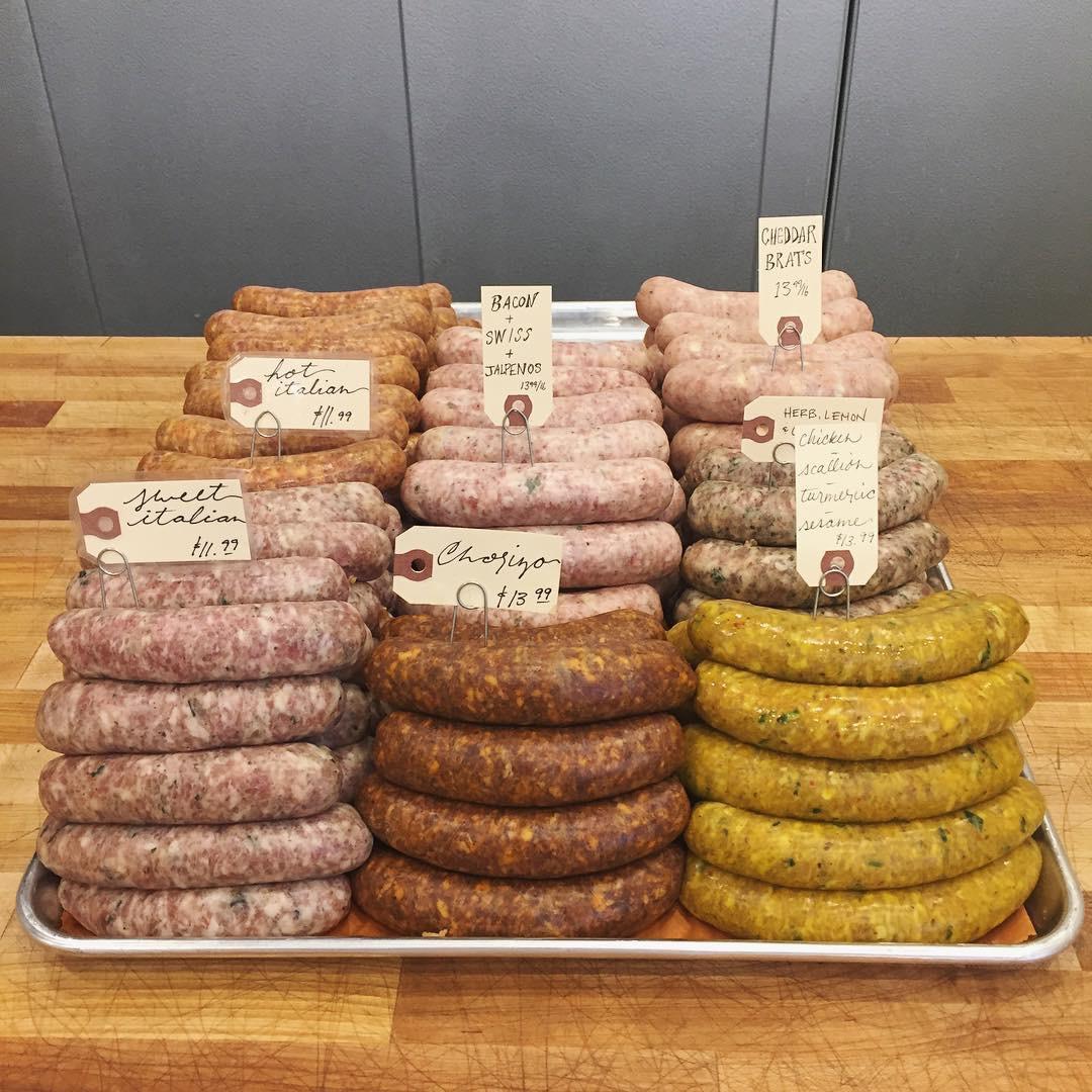 sausage flavors