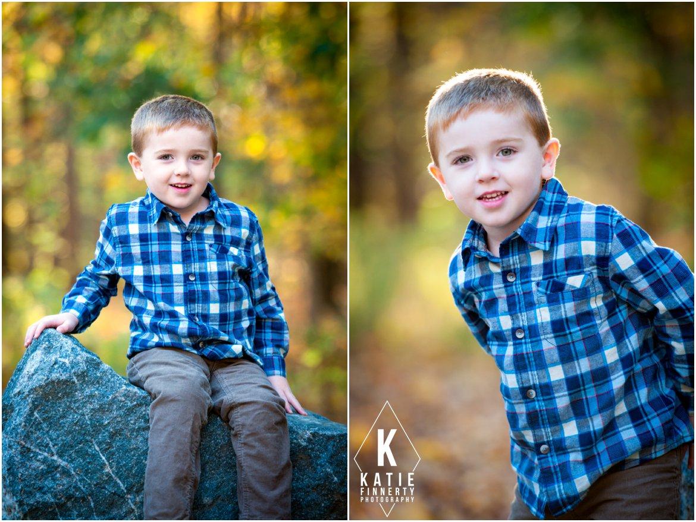 Little Bpy Fall Portrait Session