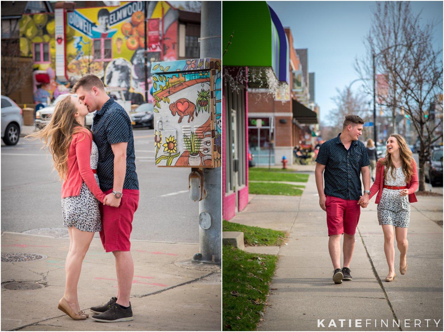 Buffalo, NY Engagement Photography