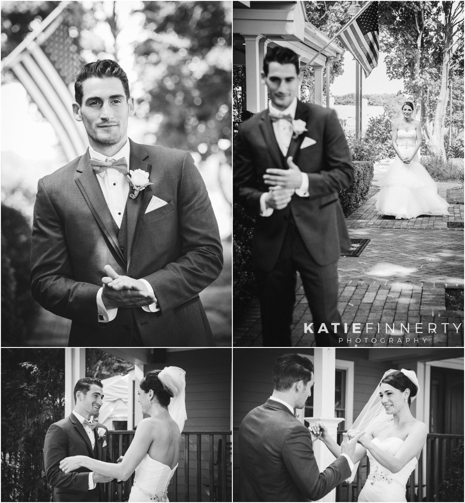 Long Island Wedding First Look