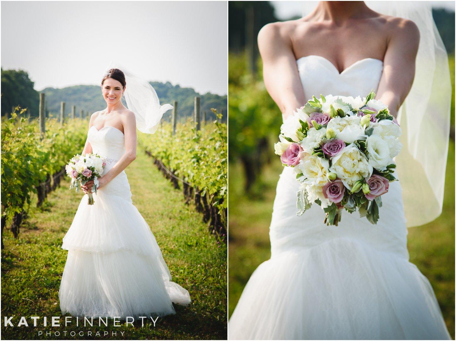 Baiting Hollow Vineyard Bride