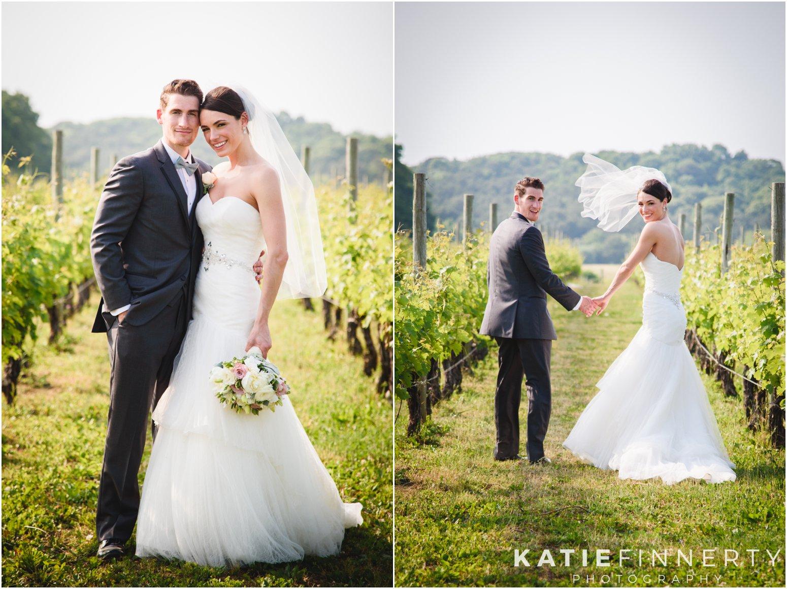 Baiting Hollow Vineyard Wedding Photography