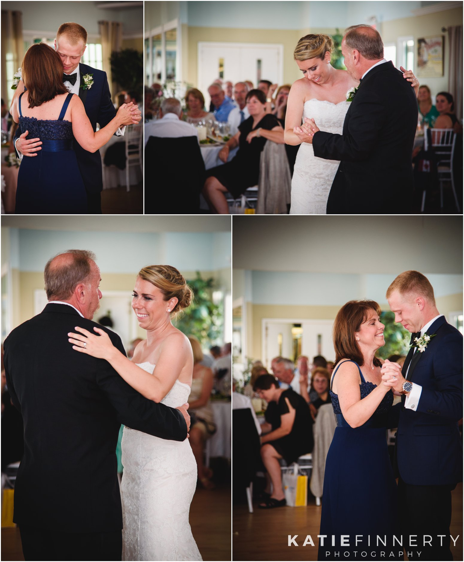 Long Island Beach Wedding Parent Dances