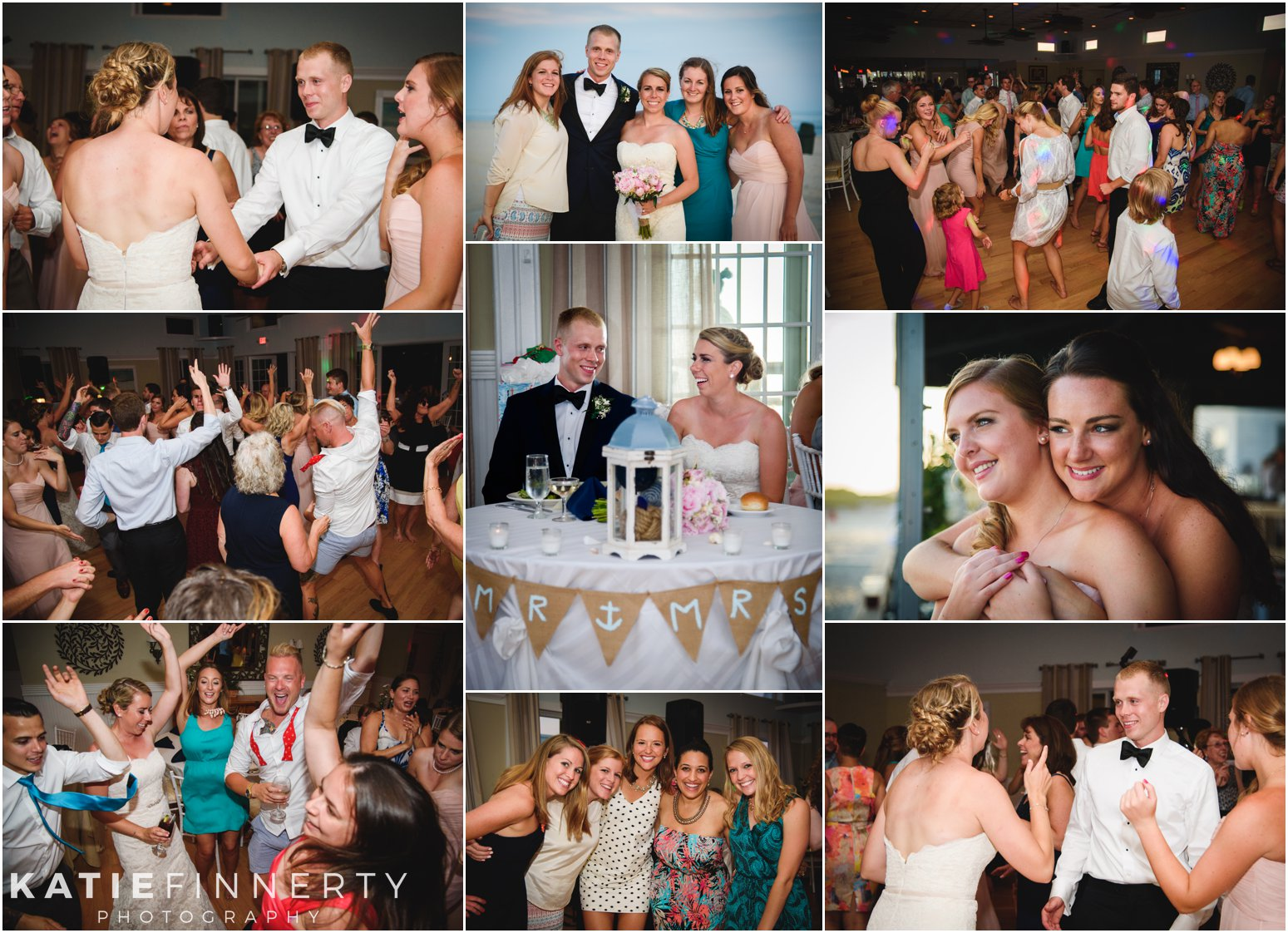 Long Island Beach Wedding Reception