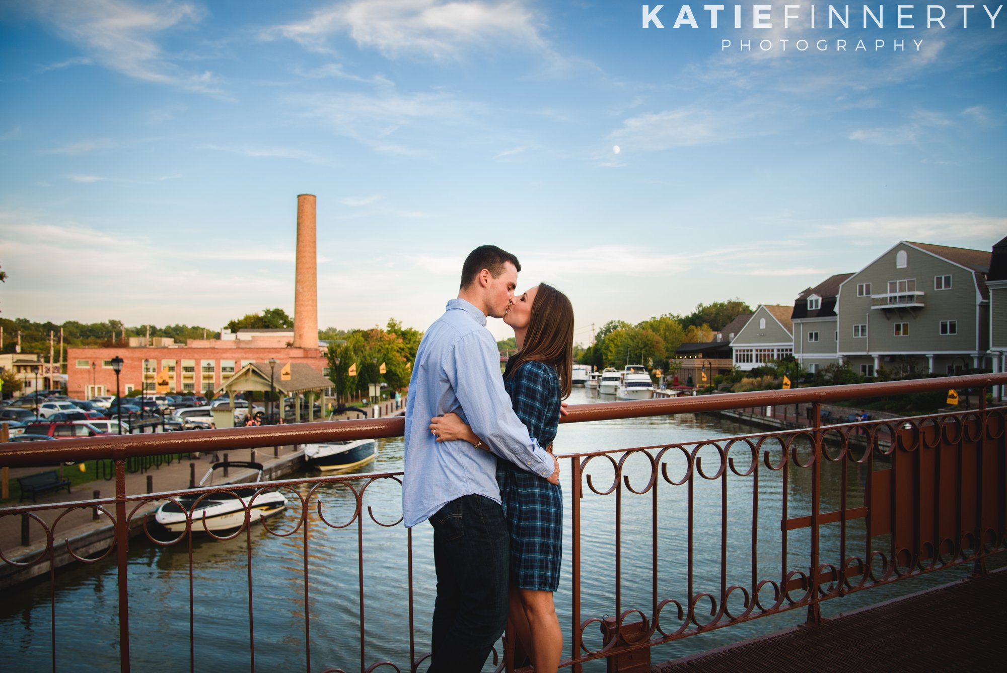 fairport canal engagement session