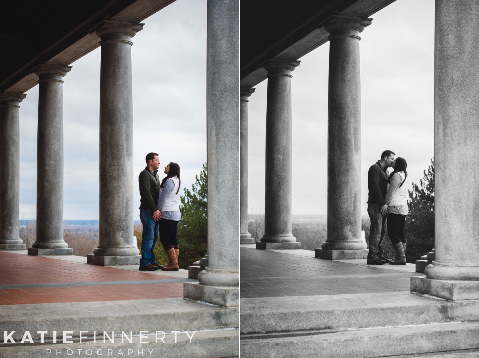cobbs hill rochester engagement session