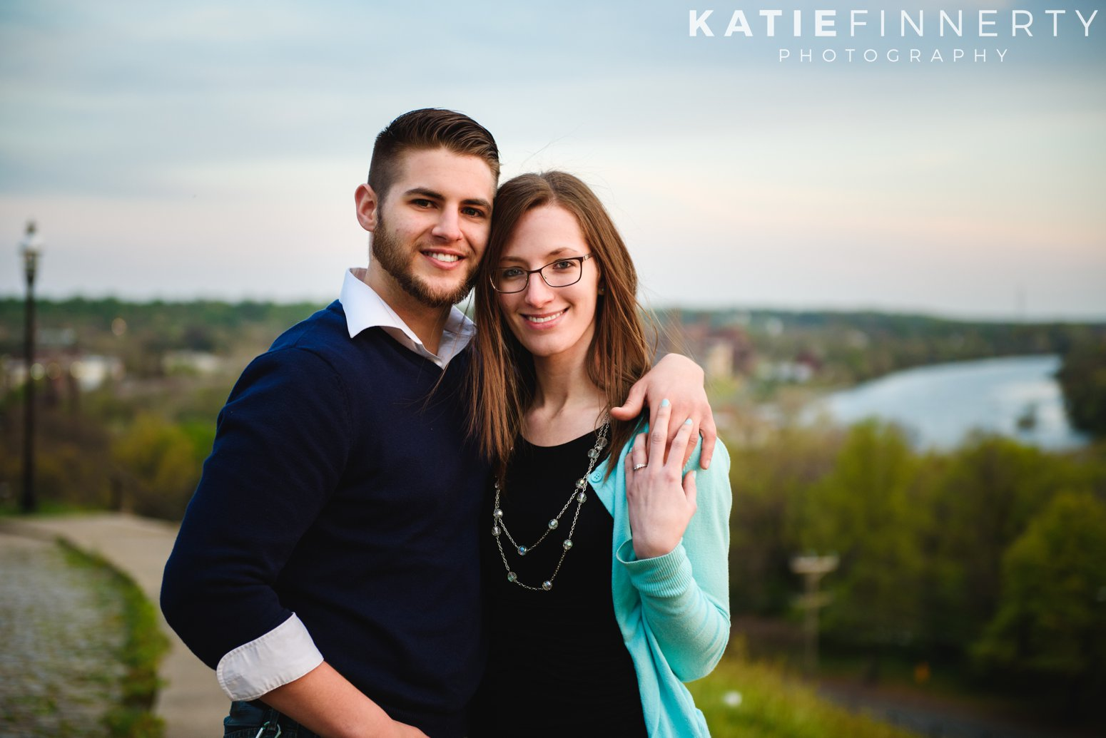 libby hill richmond engagement session