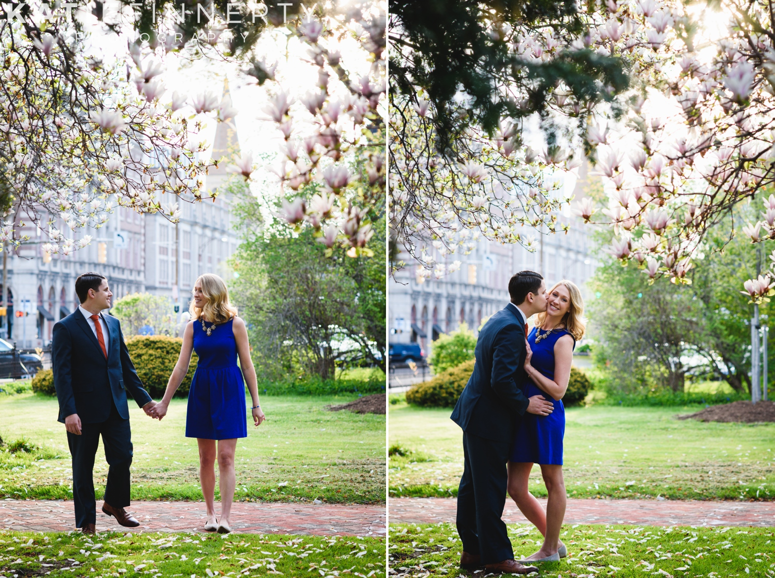 East Ave, Rochester Engagement Session