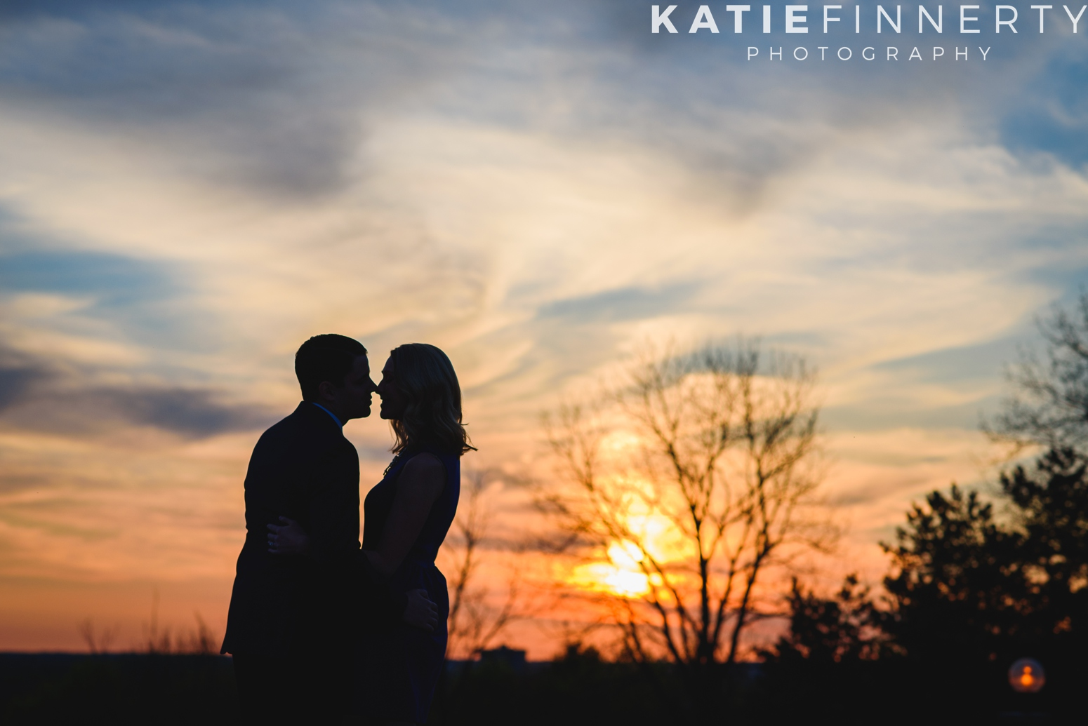 Cobbs Hill, Rochester Engagement Session
