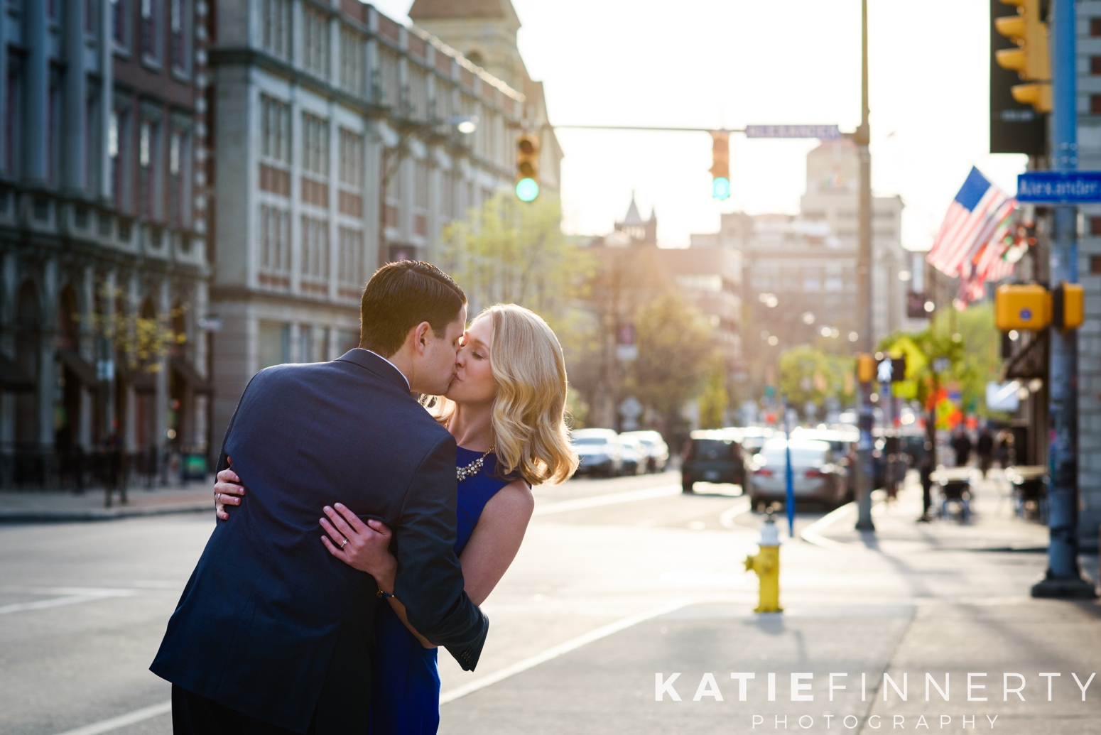 East Avenue Rochester Engagement Session