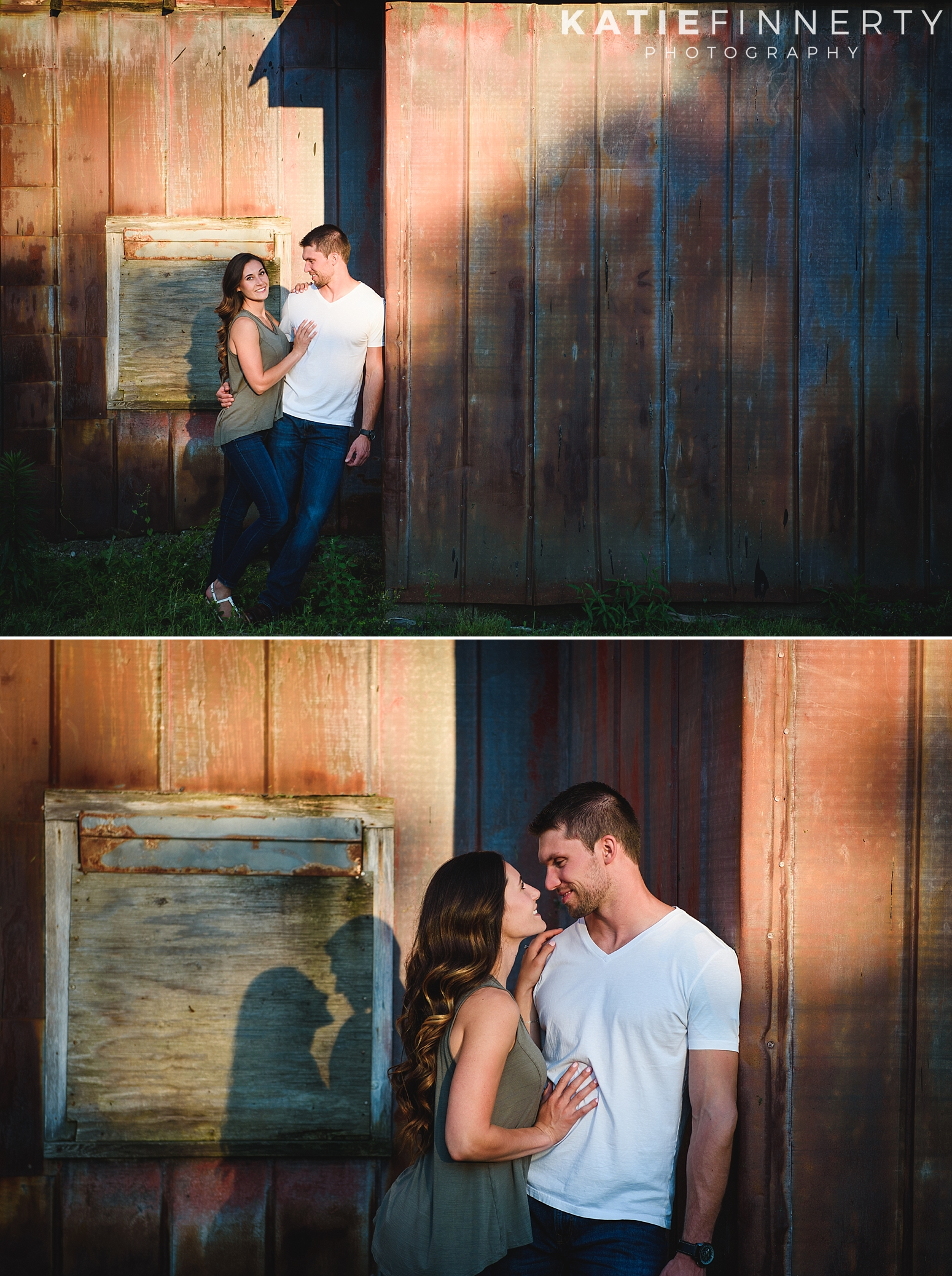 Rochester Barn Engagement Session