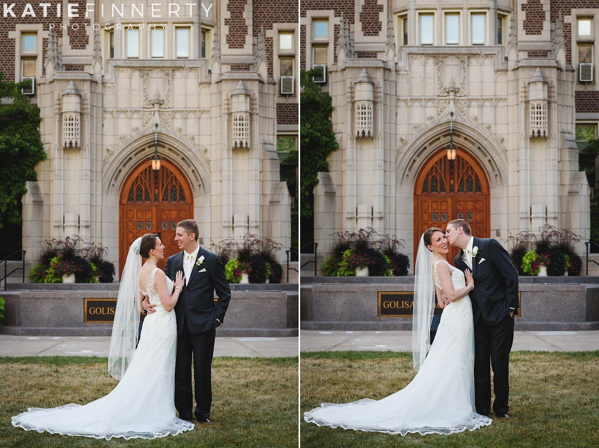 Nazareth College Rochester Wedding Photography
