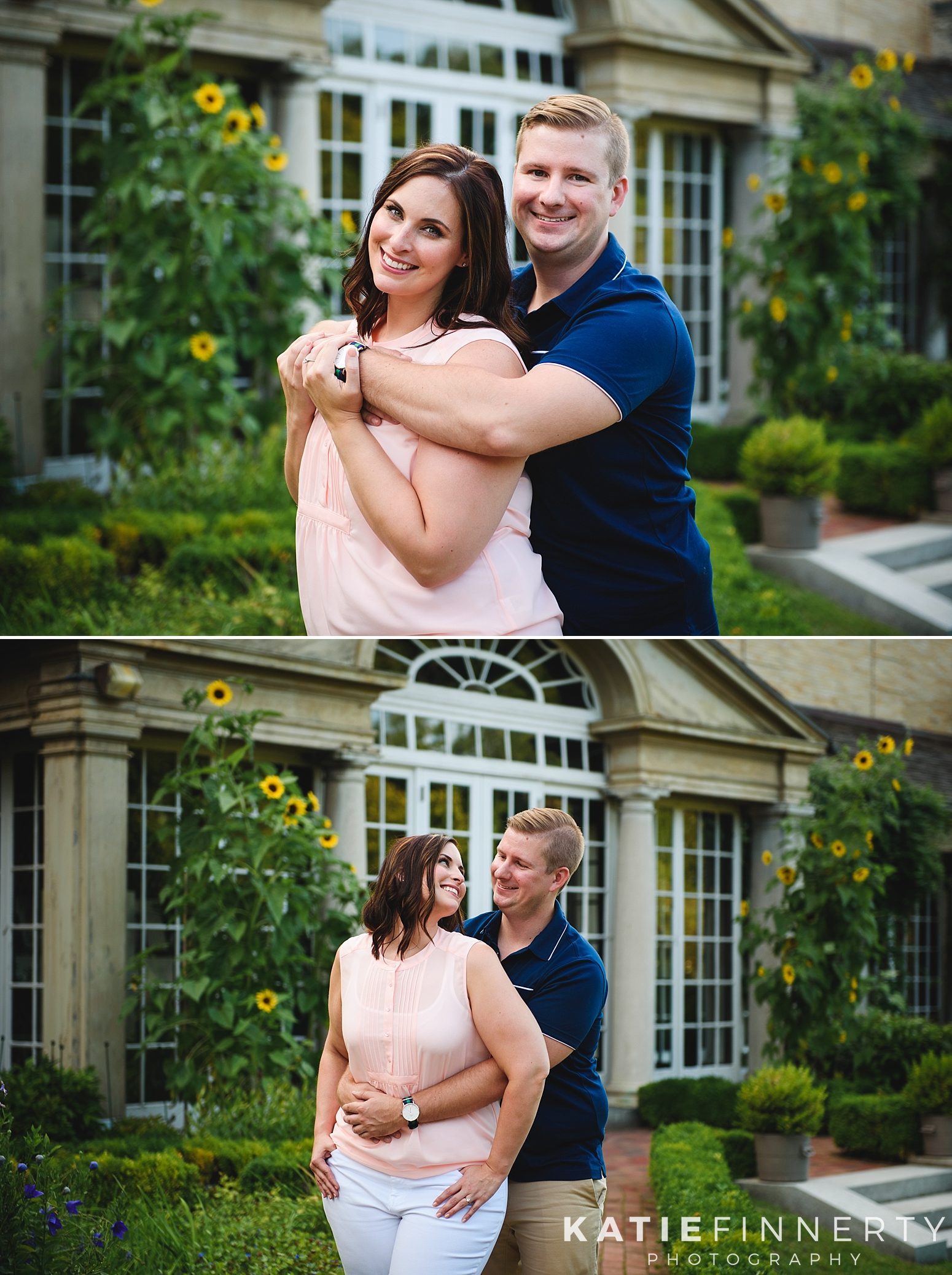 George Eastman House Rochester Engagement Session