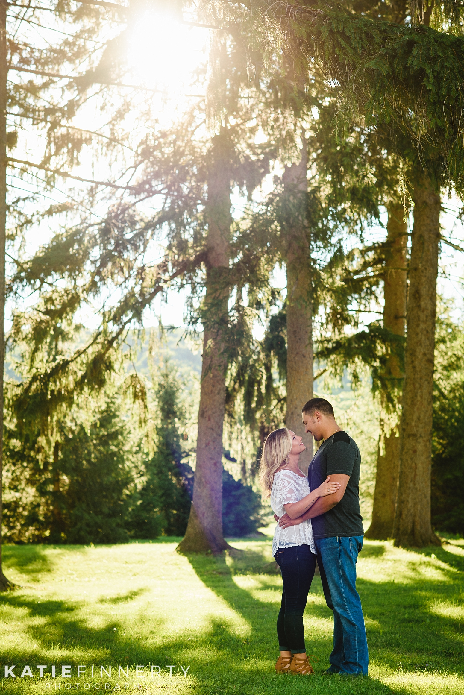 Hemlock Lake Engagement Session