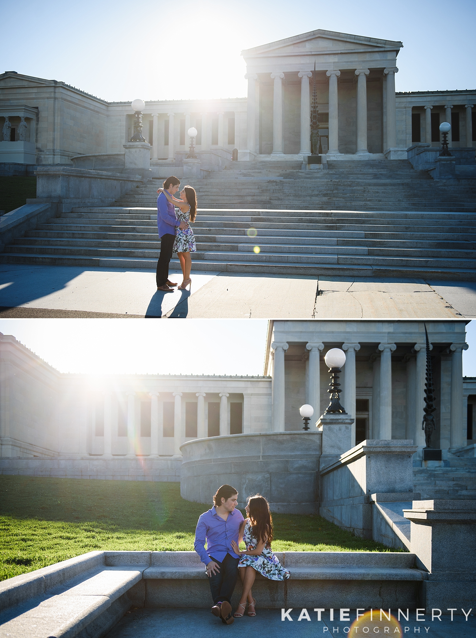 Delaware Park Buffalo Engagement Session
