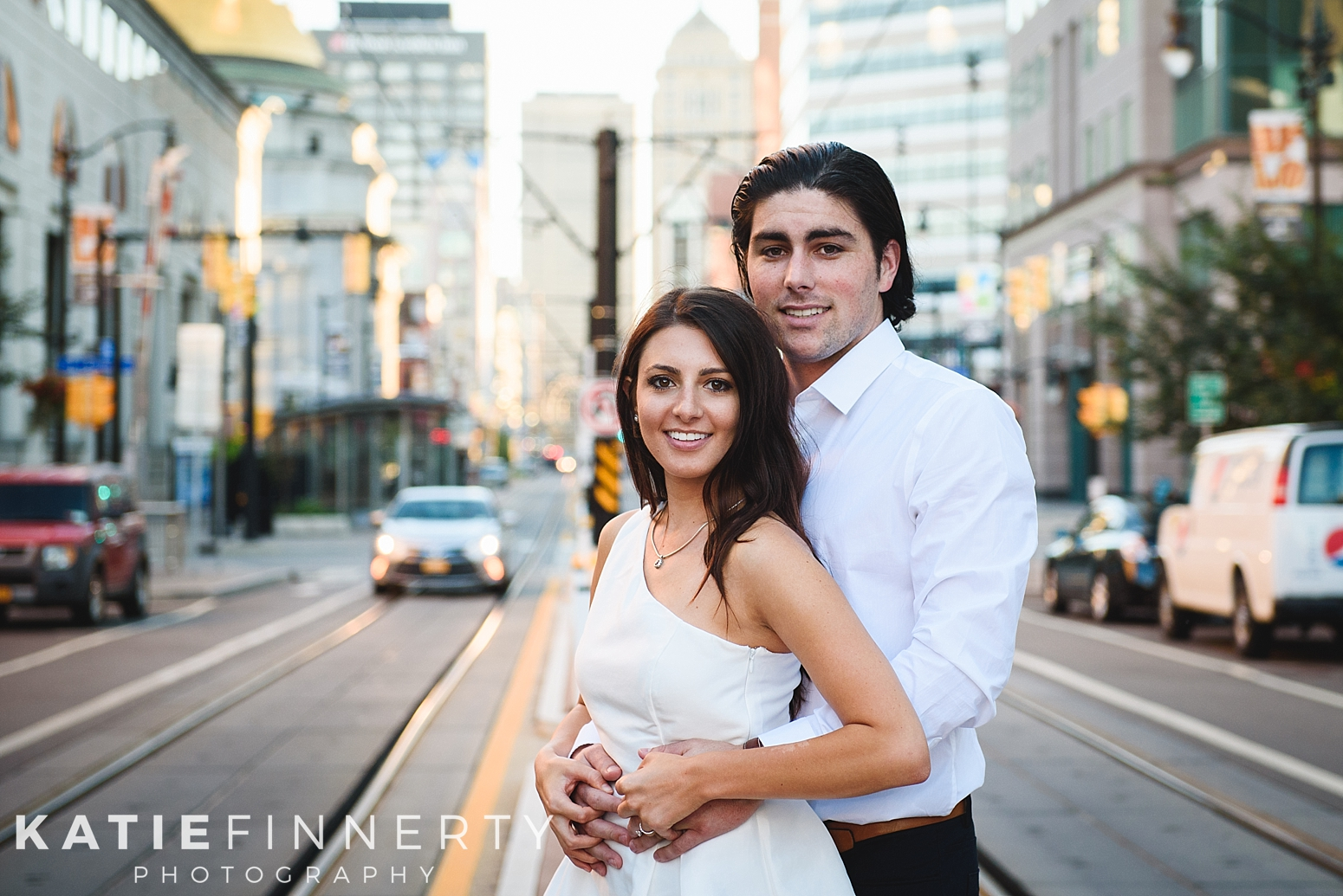 Downtown Buffalo Engagement Session