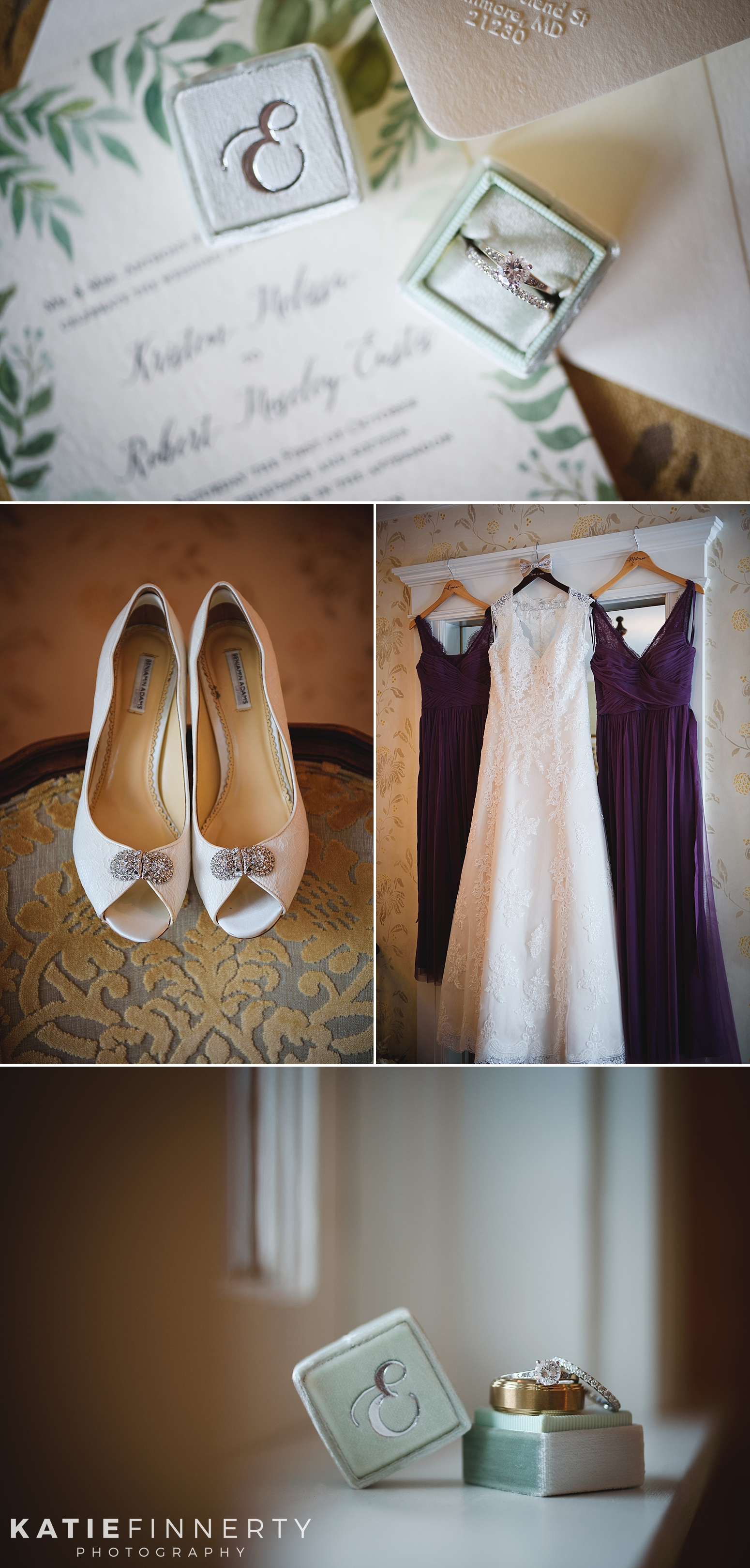 Sherwood Inn Wedding Photography Rings
