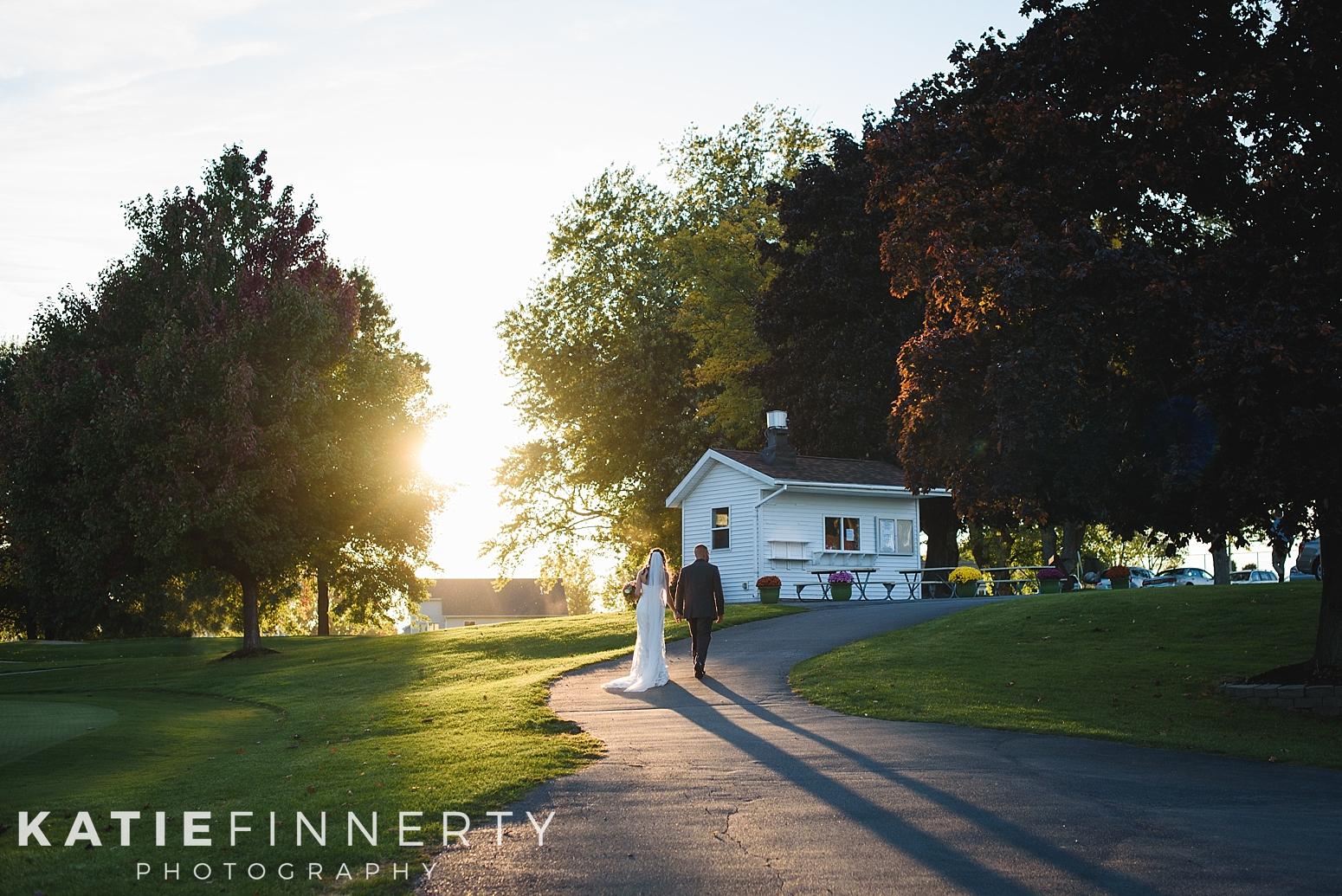 Sodus Bay Heights Golf Cub Wedding Photography