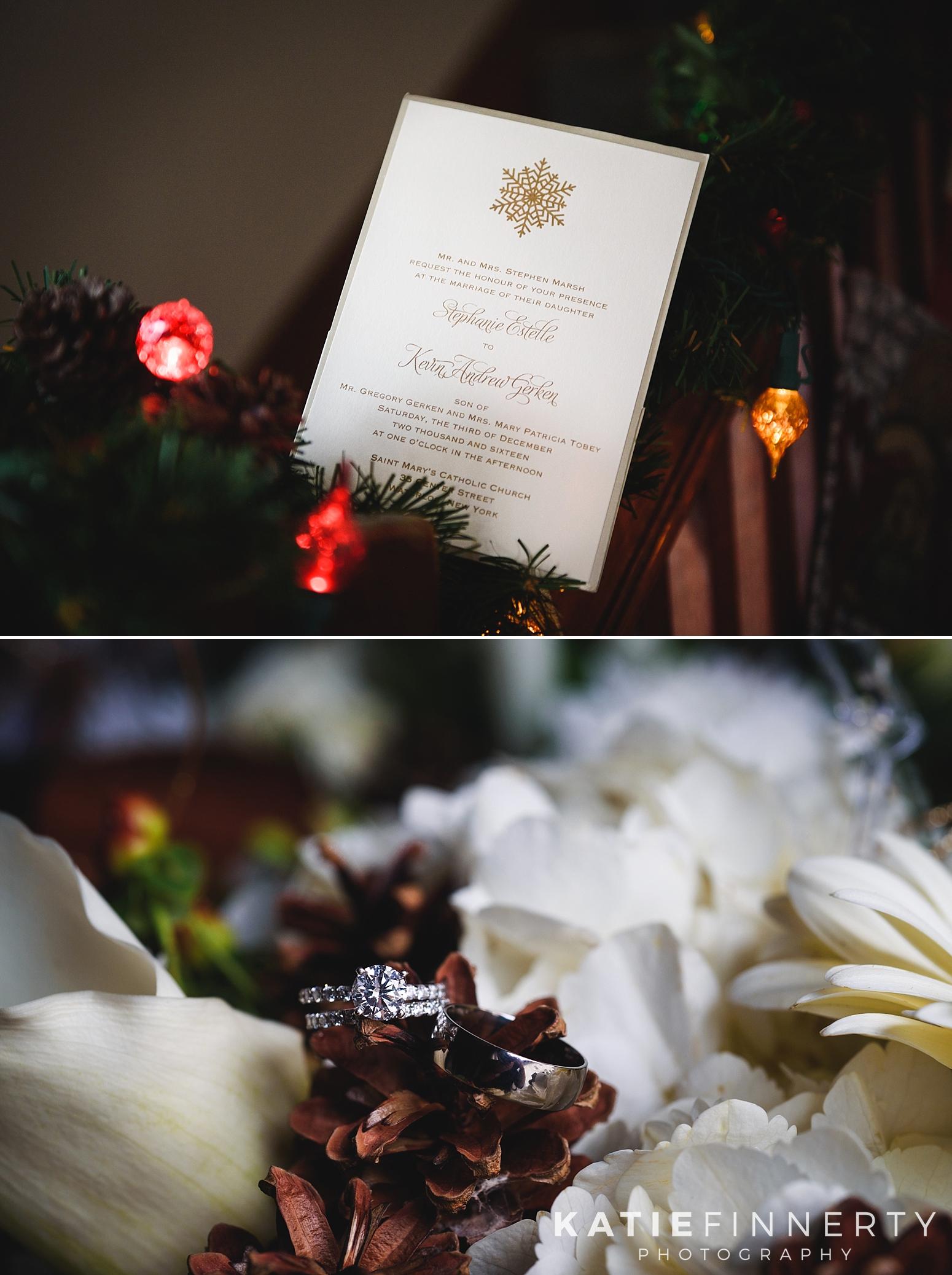 Skaneateles Winter Wedding Photography