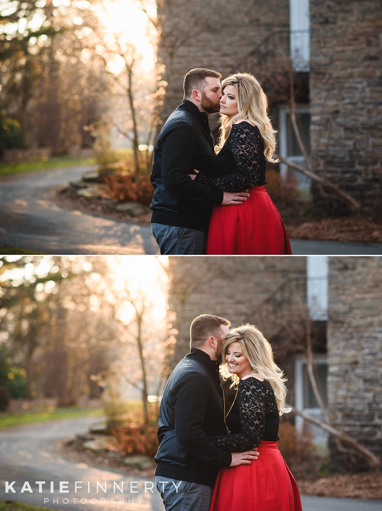 Rochester Highland Park Winter Engagement Session