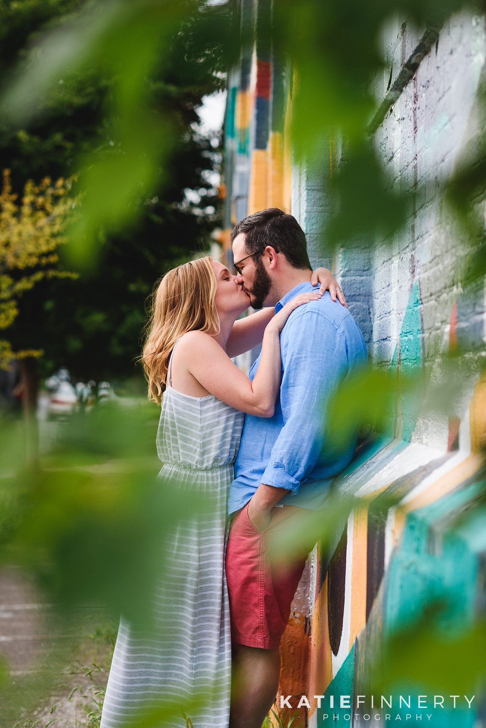 Rochester Street Art Engagement Photography