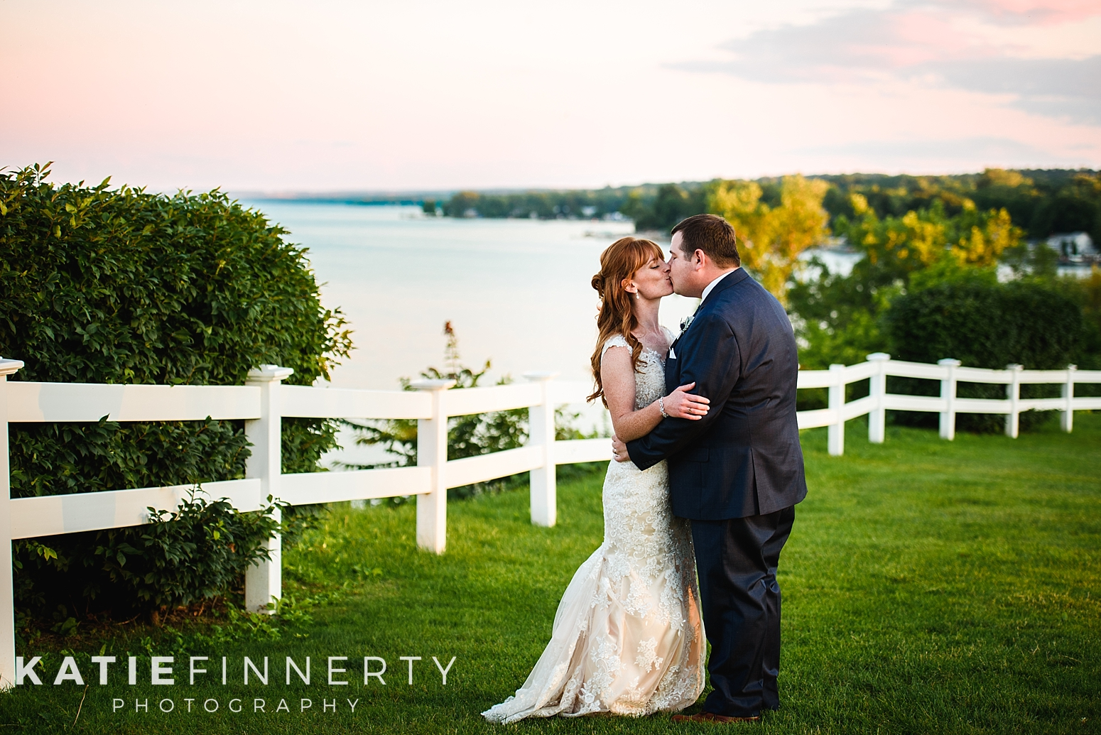 Geneva Country Club Sunset Wedding
