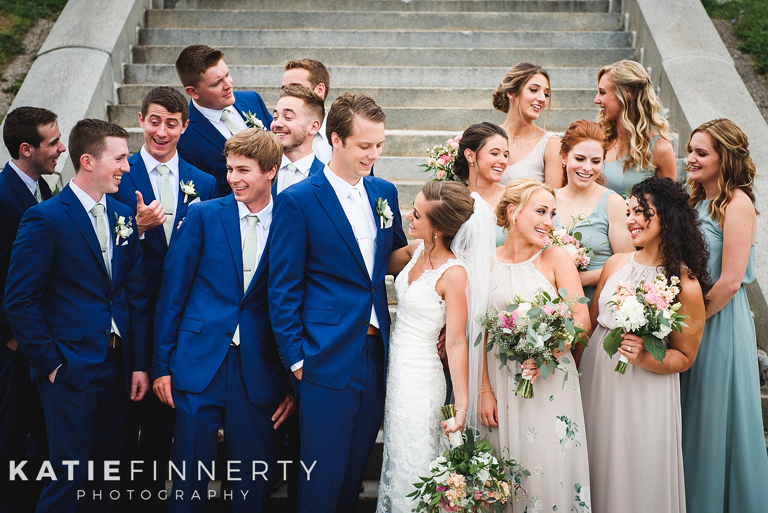 Cobb's Hill Downtown Rochester Wedding Photography