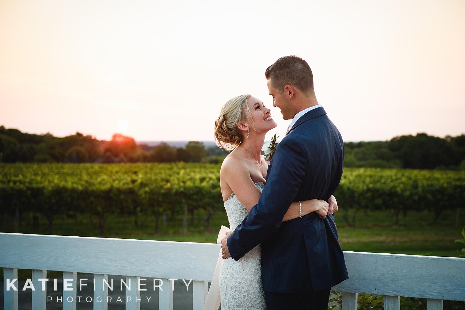 Casa Larga Sunset Rochester Wedding Photography