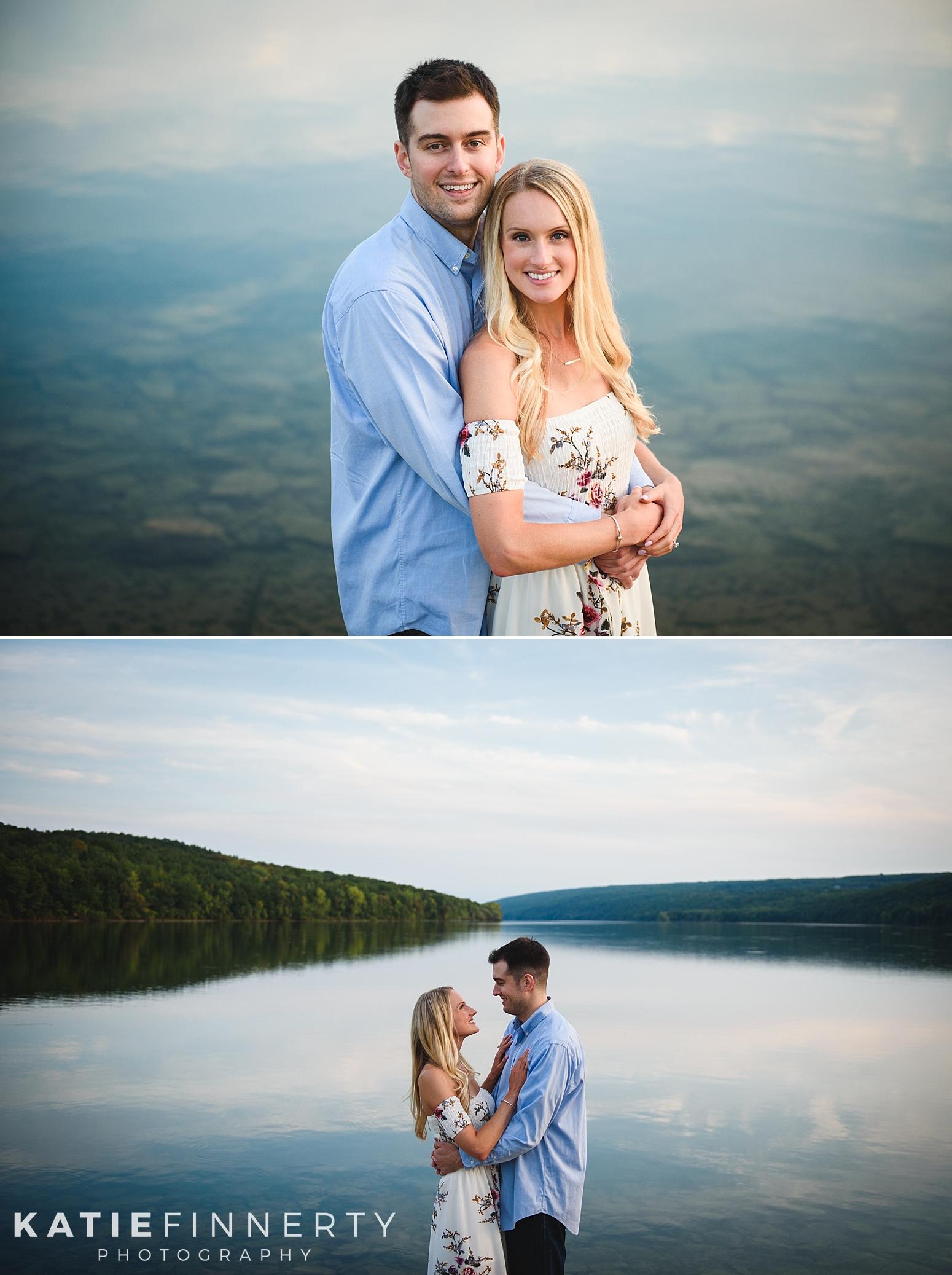 Hemlock Lake Finger Lakes Engagement Photography