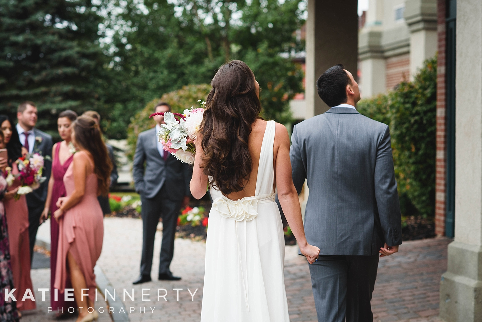 Oneonta Wedding Photography First Look