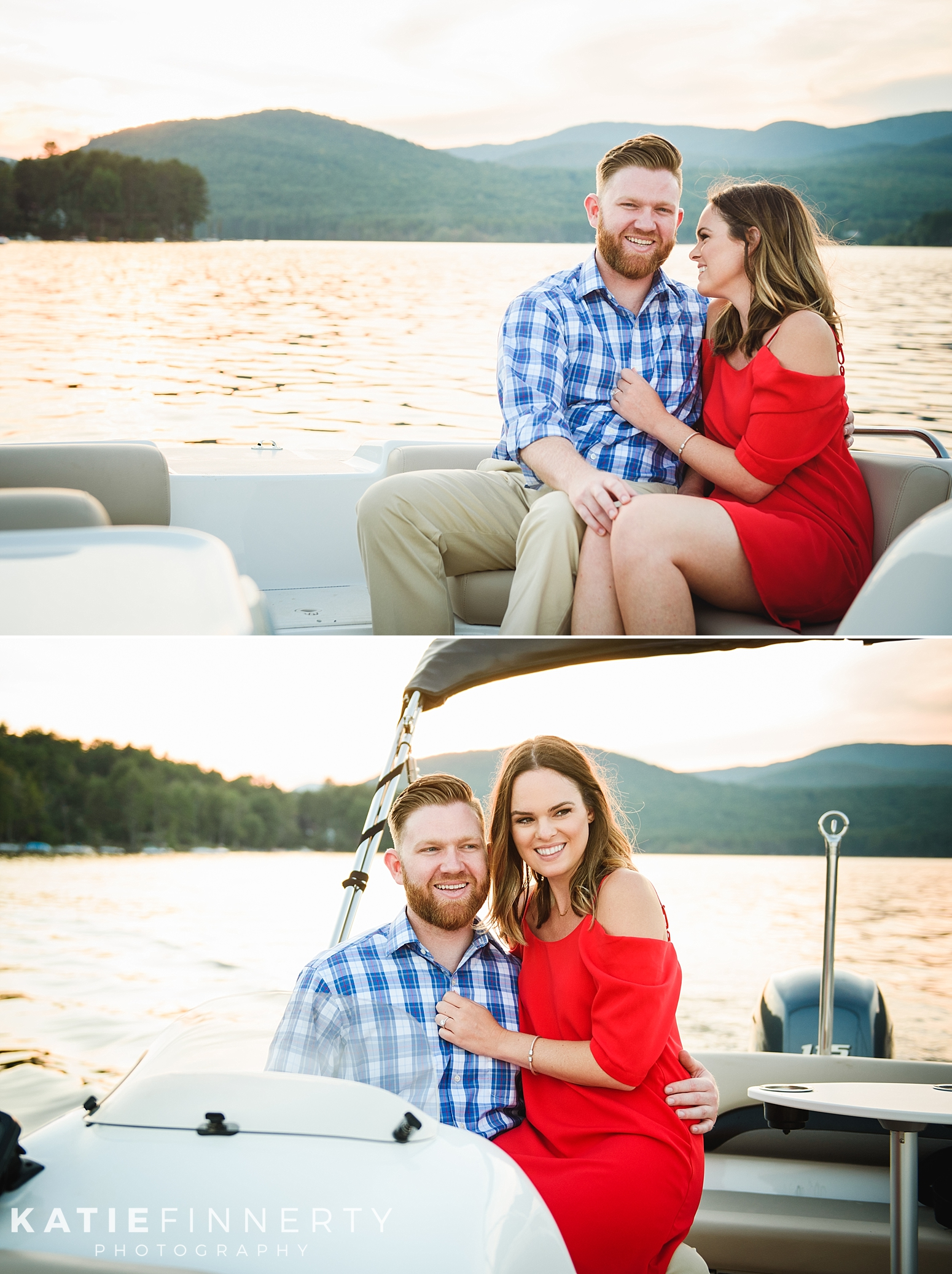 Sacandaga Lake Engagement Session Photography