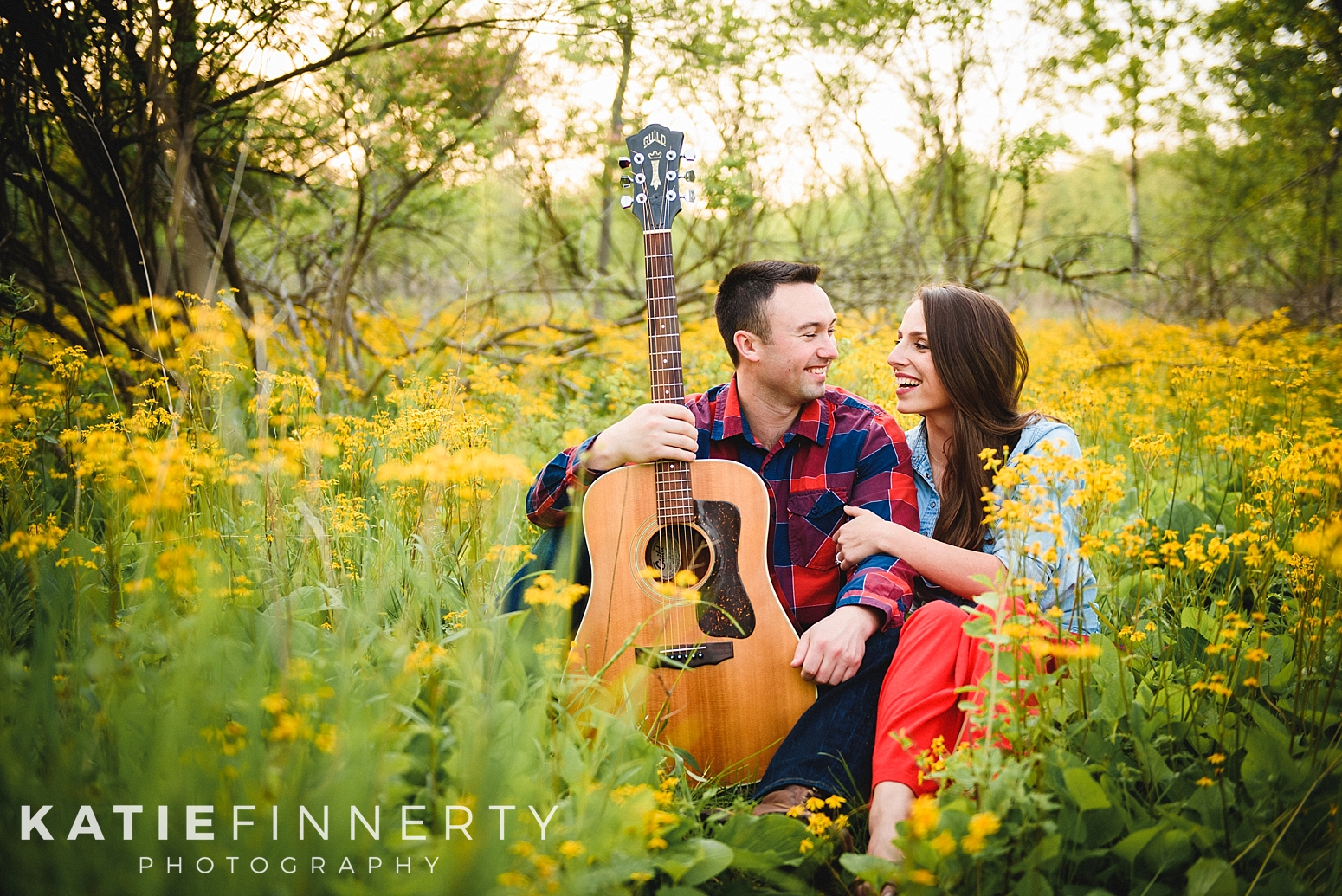 Mendon Ponds Park Rochester Spring Engagement Session Photography