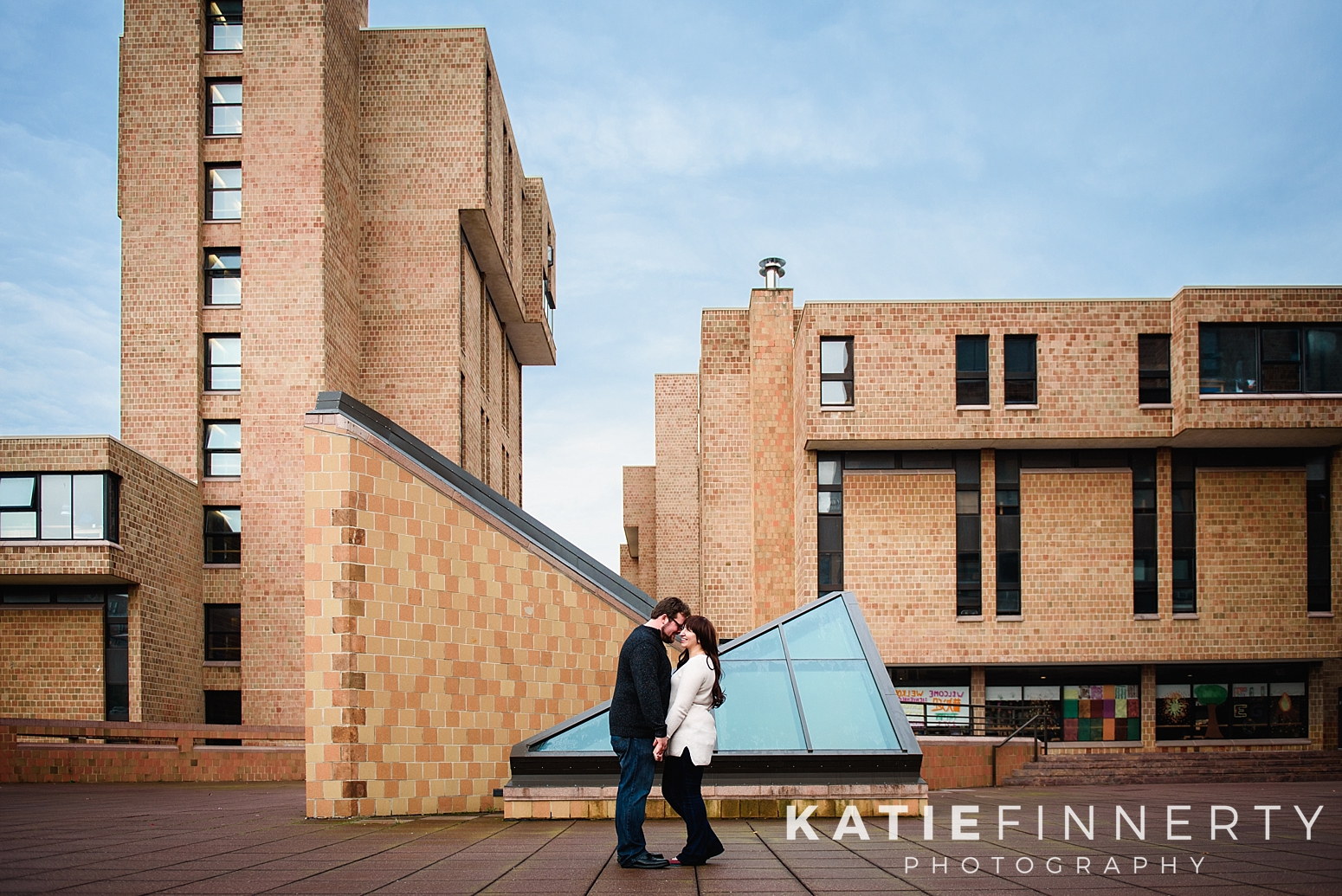 University at Buffalo Engagement Session Photography