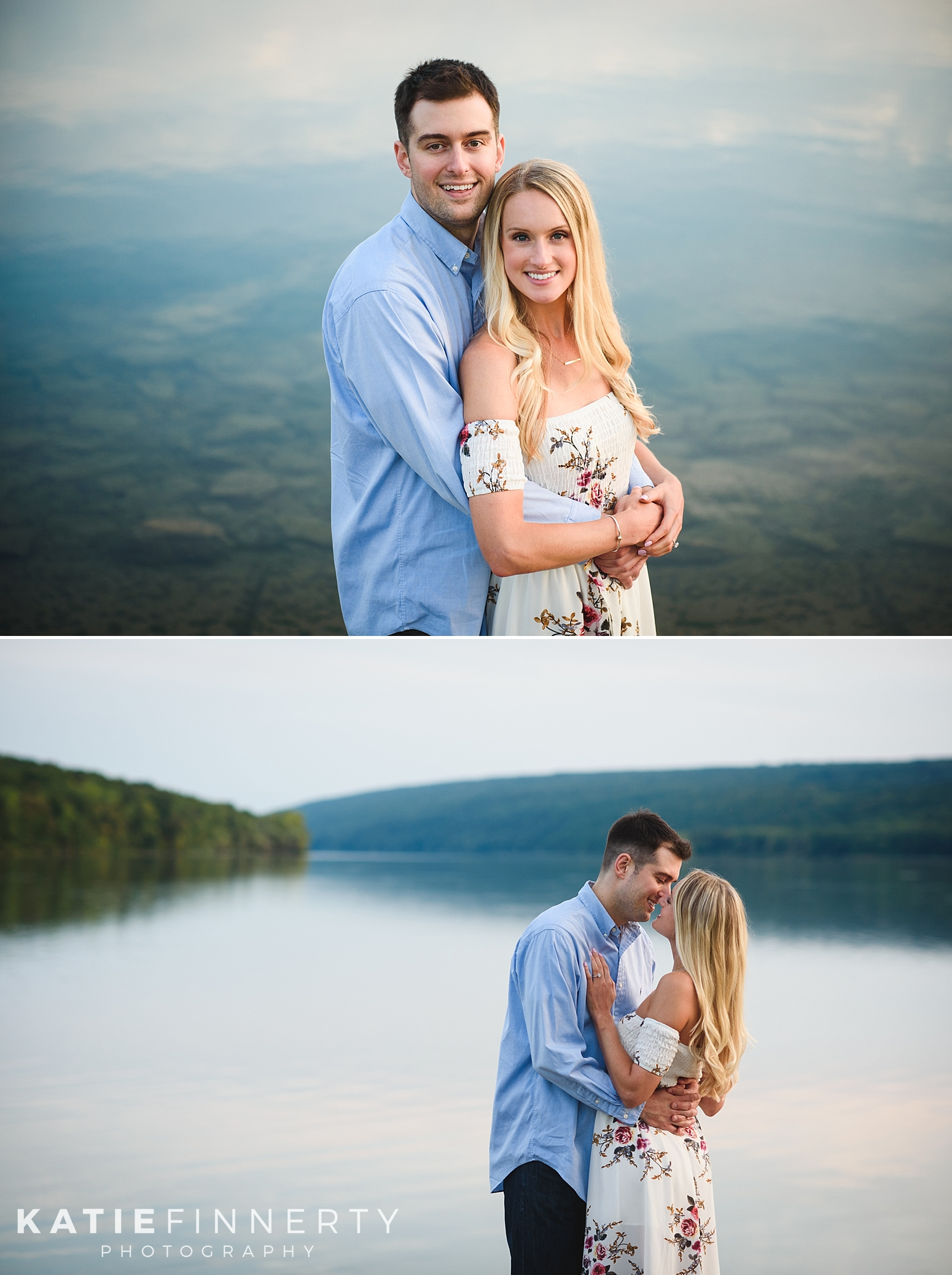 Hemlock Lake Finger Lakes Engagement Session Photography