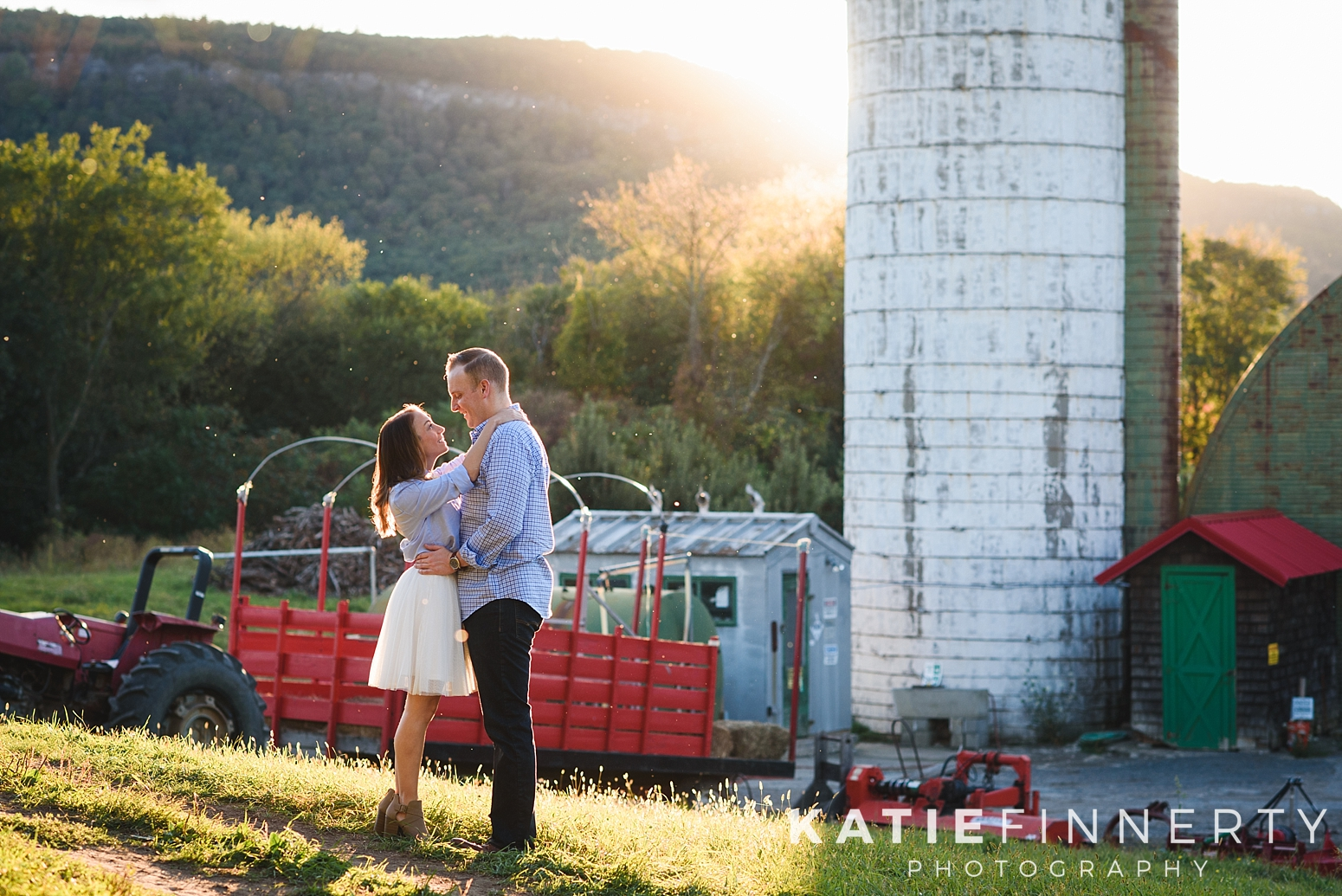 Indian Ladder Farms Albany Engagement Session Photography