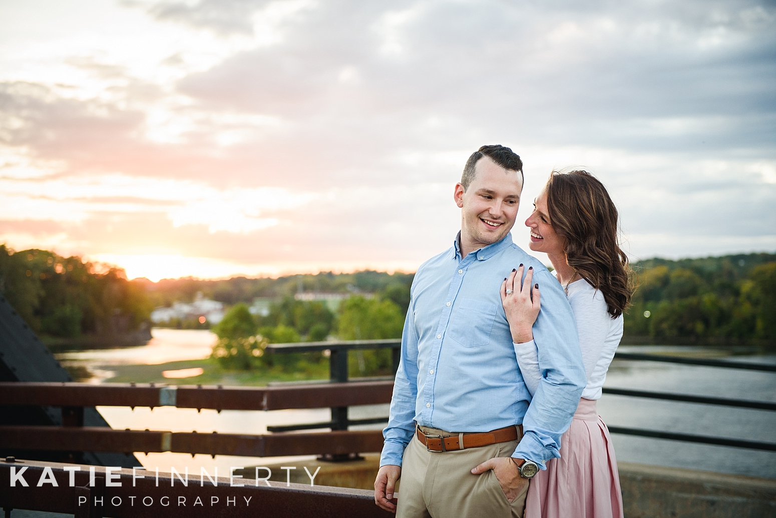 Peebles Island Troy Engagement Session Photography