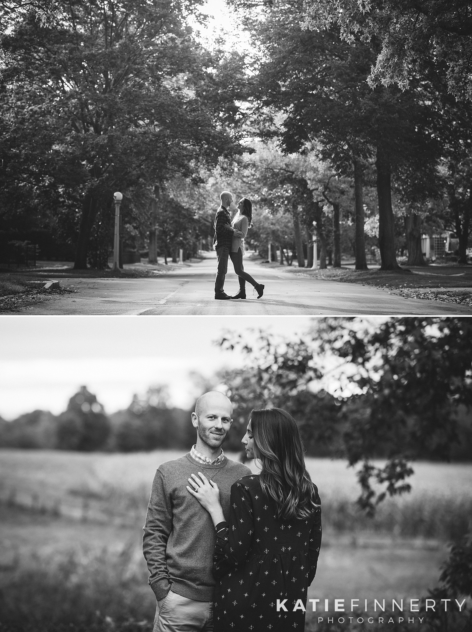 Browncroft Neighborhood Rochester Engagement Session Photography