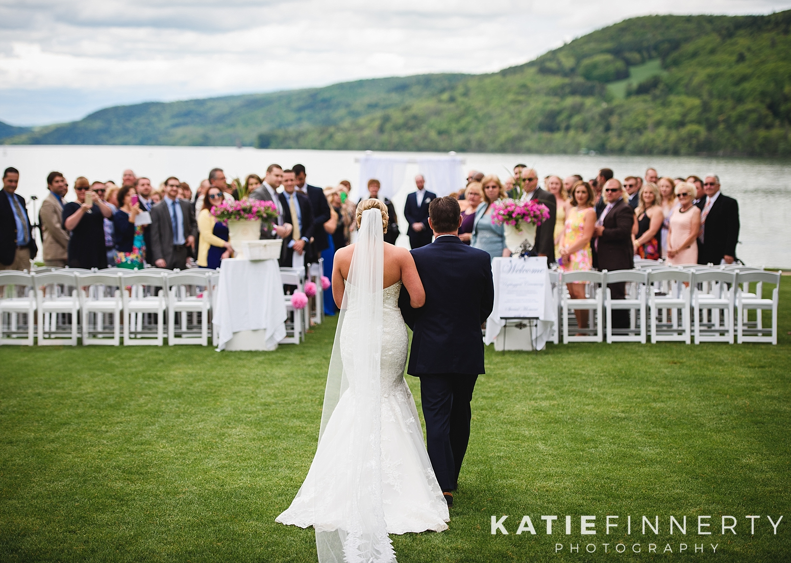 Otesaga Resort Hotel Cooperstown Summer Wedding Photography