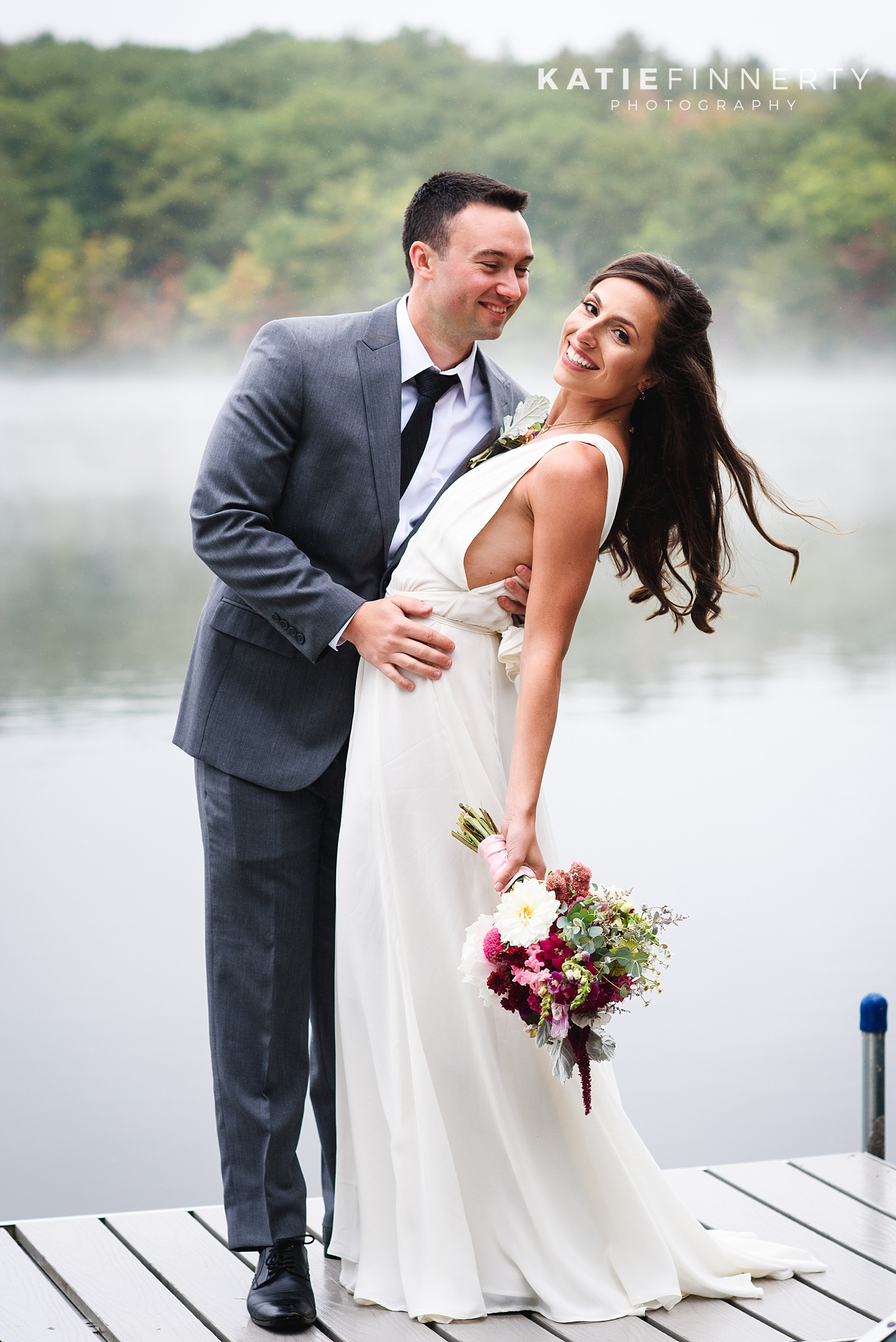 Oneonta Lake Summer Wedding Photography