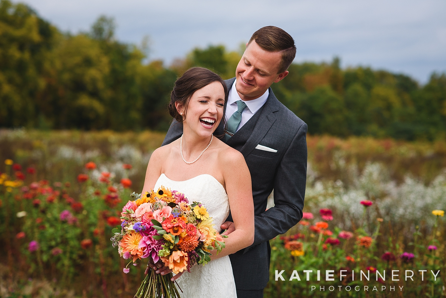 Silver Queen Farm Ithaca Fall Wedding Photography