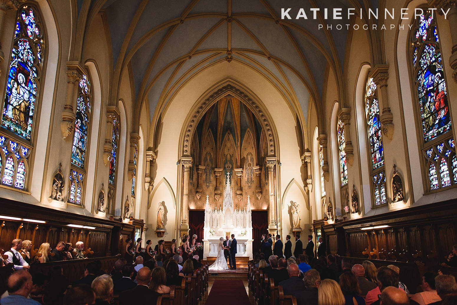 Chapel Hill Rochester Summer Wedding Photography
